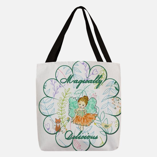 Cool Flower child Polyester Tote Bag