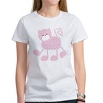 Cute Pink Kitty Cat With Spots T-Shirt