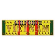 Harvest Moons Air Force Vietnam Bumper Bumper Sticker