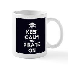 Keep Calm and Pirate On Mug