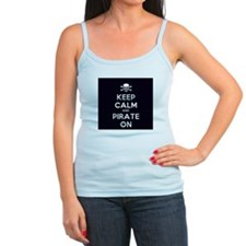 Keep Calm and Pirate On Tank Top