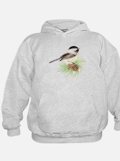 Chickadee Pine.png Hoodie