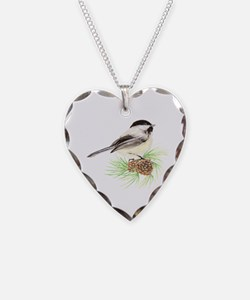 Chickadee Pine.png Necklace