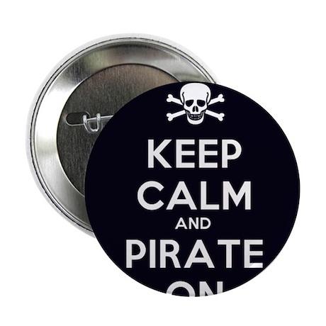 """Pirate 2.25"""" Button"""