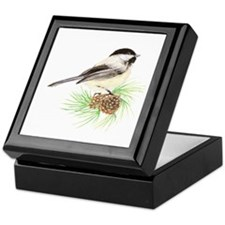 Chickadee Pine.png Keepsake Box