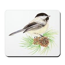 Chickadee Pine.png Mousepad