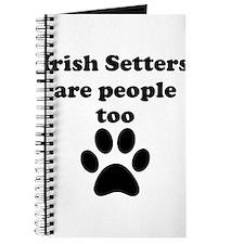 Irish Setters Are People Too Journal