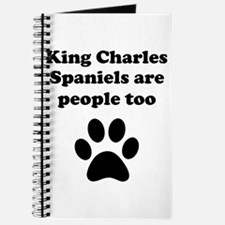 King Charles Spaniels Are People Too Journal