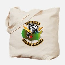 Storm Chaser - Kansas Tote Bag