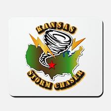 Storm Chaser - Kansas Mousepad