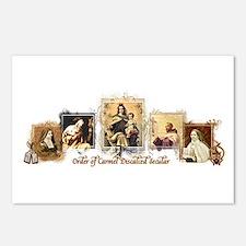 OCD Saints Postcards (Package of 8)