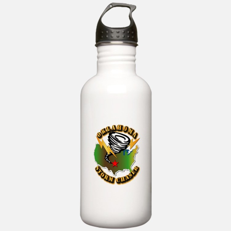 Storm Chaser - Oklahoma Water Bottle