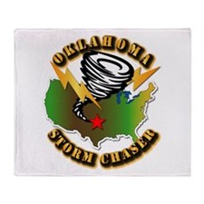 Storm Chaser - Oklahoma Throw Blanket