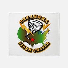Storm Chaser - Oklahoma Throw Blanket