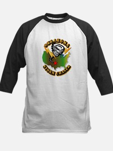 Storm Chaser - Oklahoma Kids Baseball Jersey