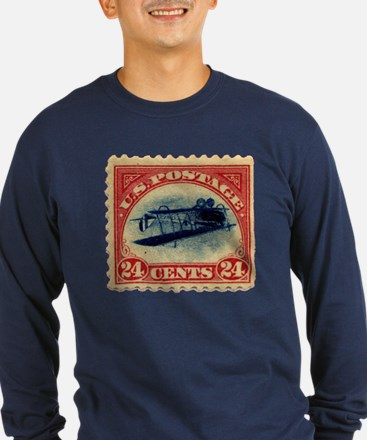 Rare Inverted Jenny Stamp T