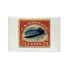 Rare Inverted Jenny Stamp Rectangle Magnet