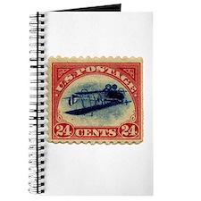 Rare Inverted Jenny Stamp Journal