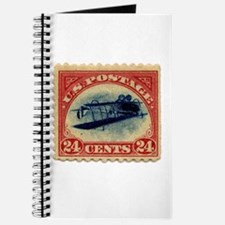 Rare Inverted Jenny Stamp Journal