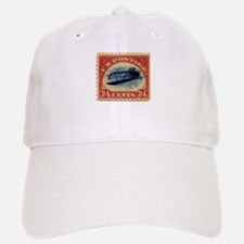 Rare Inverted Jenny Stamp Baseball Baseball Cap