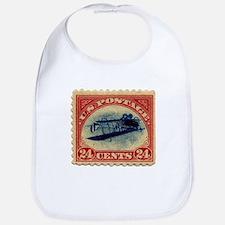Rare Inverted Jenny Stamp Bib