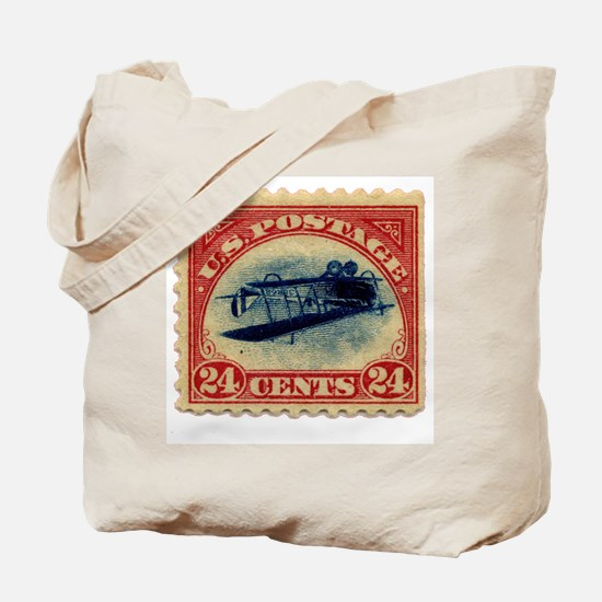 Rare Inverted Jenny Stamp Tote Bag