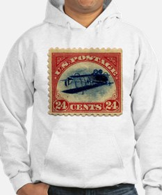 Rare Inverted Jenny Stamp Hoodie
