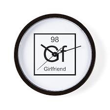 Girlfriend Wall Clock