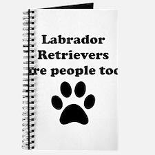 Labrador Retrievers Are People Too Journal