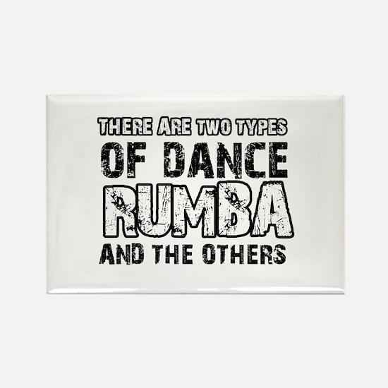 Rumba dance designs Rectangle Magnet