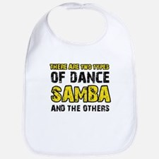 Samba dance designs Bib