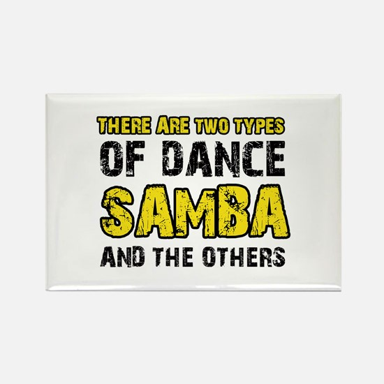 Samba dance designs Rectangle Magnet