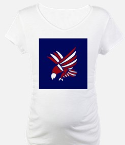 Red, White, and Blue Eagle Art Shirt