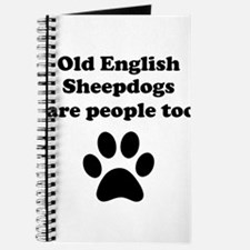 Old English Sheepdogs Are People Too Journal