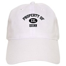 Property of Quinn Baseball Baseball Cap