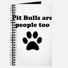Pit Bulls Are People Too Journal