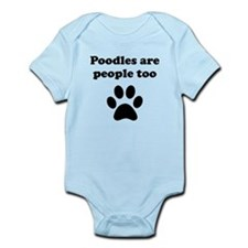 Poodles Are People Too Body Suit