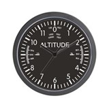 Altimeter Wall Clocks