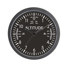 Altimeter Dieselpunk Wall Clock