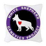 WSGP LOGO Woven Throw Pillow