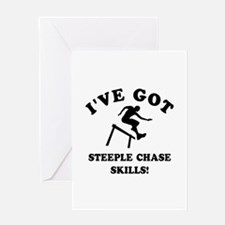 Steeple Chase gift items Greeting Card