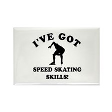 Speed Skating gift items Rectangle Magnet