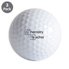 Chemistry Teacher Golf Ball