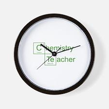 Chemistry Teacher Wall Clock