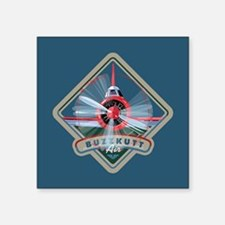 "Buzzkutt Airplane 3"" Lapel Sticker (48 pk) St"