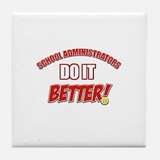 School Administrators designs Tile Coaster