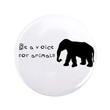 "Be A Voice 3.5"" Button"
