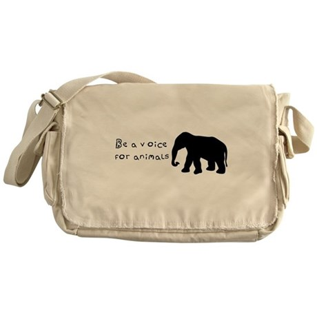 Be A Voice Messenger Bag