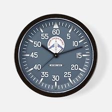 Grand Central Rocket Wall Clock