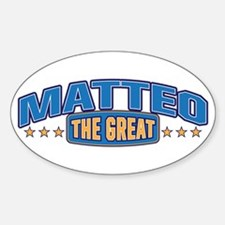 The Great Matteo Decal